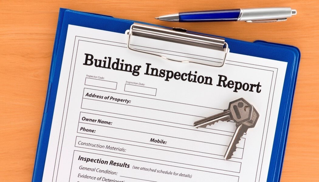 example report of building inspections